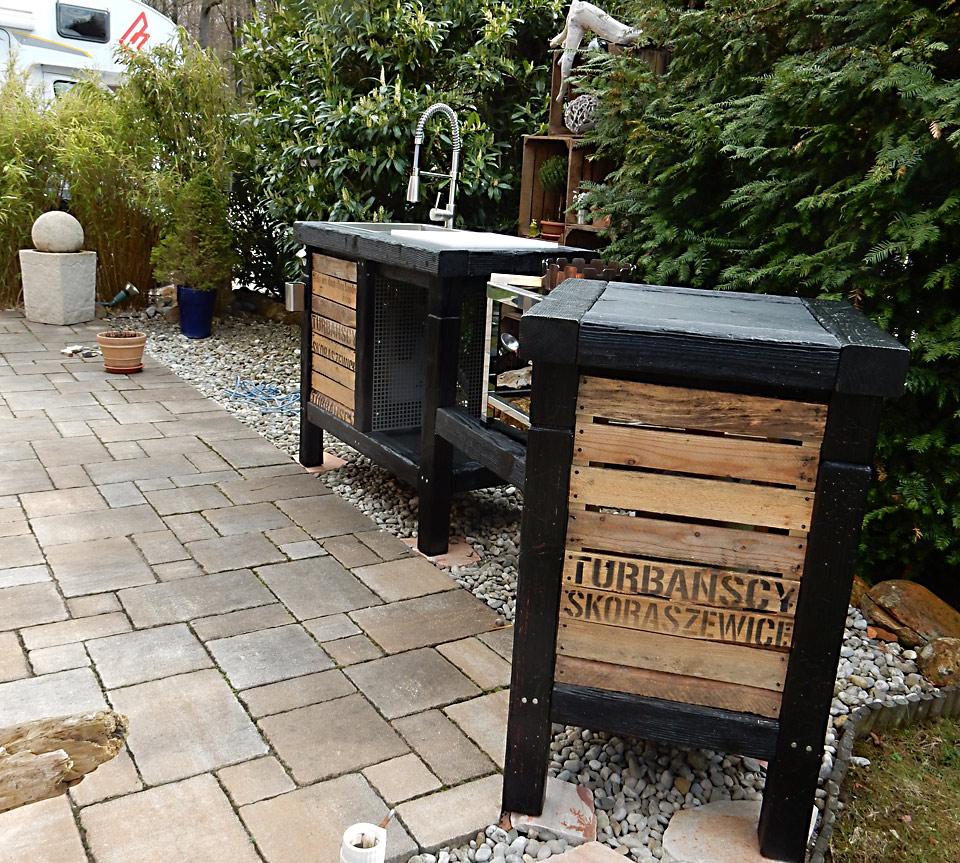 fertige outdoorküche, aussenküche, wockküche - Aussen Küche