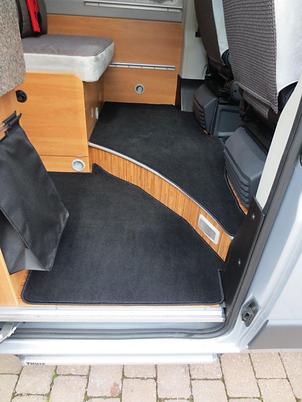 Wohnmobil Teppich selbst verlegt